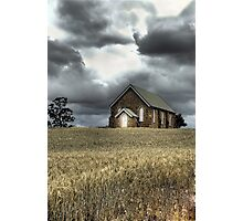 Church at Wallendbeen Photographic Print