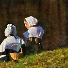 People - The young maidens by Mike  Savad