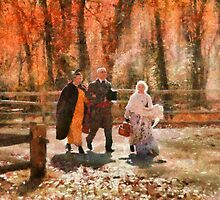 Autumn - A walk in the countryside by Mike  Savad