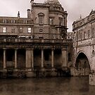 A Grungy Look at Bath by paintingsheep