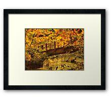 Bridge - The hidden bridge Framed Print