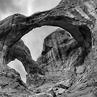 Double Arch BW by rjcolby