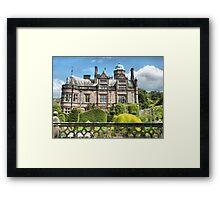 Holker Hall . Framed Print