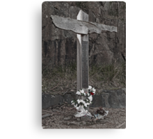 28th April 1996 - 35 Lives Wasted Canvas Print