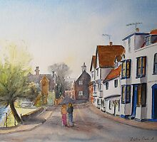 Canterbury UK - by Westgate by Beatrice Cloake