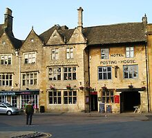 The Kings Arms, Stow-on-the-Wold, Gloucestershire by artwhiz47