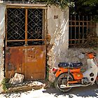 rusty door by savas