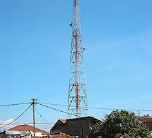 communication tower by bayu harsa