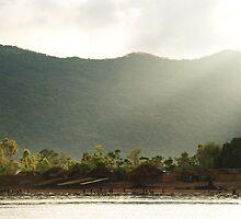 Sunrise over Chembe - Lake Malawi by akeys