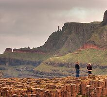 Giants causeway by Ian Middleton