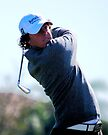 Rory McIlroy - Tees Off by Stephen Beattie