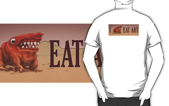 I Eat Art by Ethan  Harris
