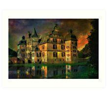 Water Castle ....... Art Print