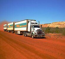 Triple Road Train by Julia Harwood