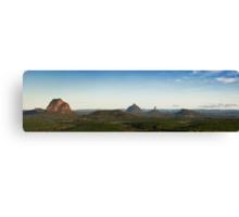 Ballooning : Glasshouse Mountains Canvas Print