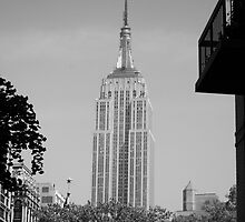 Classic empire state building by imstuie22