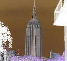 Retro empire state building by imstuie22