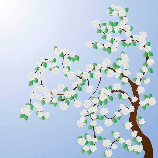 Apple tree  by Richard Laschon