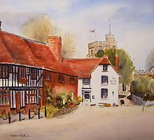 Chilham - Kent - England by Beatrice Cloake Pasquier