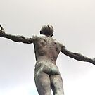 University of the Philippines, Diliman Oblation (rear view) by walterericsy