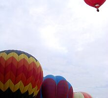 hot air balloons in Pampanga, Philippines by walterericsy