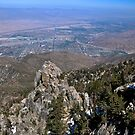 """ A view of the Coachella Valley "" by CanyonWind"