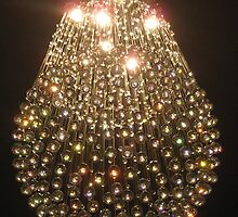 Ball chandelier. by Marilyn Baldey