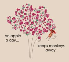 An Apple A Day... Keeps Monkeys Away. by TwistedHearts