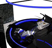 Batmobile drivetrain by Matt Tollenaar