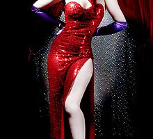 Jessica Rabbit by rockabillykat