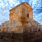 The Tomb of Cyrus The Great - Iran by Bryan Freeman