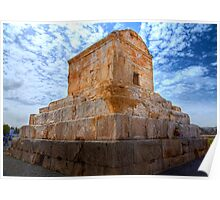 The Tomb of Cyrus The Great - Iran Poster