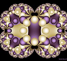 Fractal Pearls by Sandra Bauser Digital Art