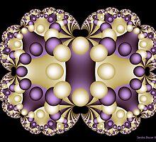 Fractal Pearls by Sandra Bauser Digital Art