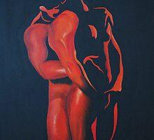 Overt Orange by Claire Watson