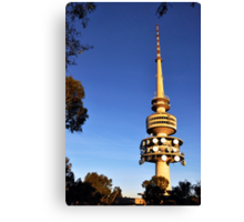 Telstra Tower, Black Mountain Canberra Canvas Print