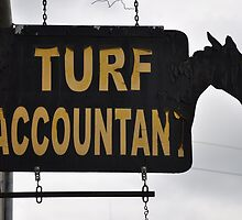 Sign, Turf Accountant, Monasterevin, Co. Laois, Ireland by Pat Herlihy