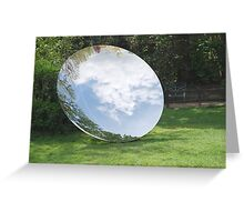 Anish Kapoor's Sky Mirror, Brighton Greeting Card