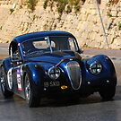 Jaguar XK 120 by Xandru