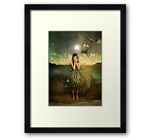 Courage... Framed Print