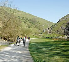 Climbers Return, Dovedale by Rod Johnson