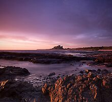 Bamburgh Dawn by Phillip Dove