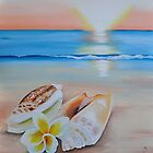 """Tropical sunset"" by Taniakay"