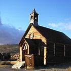 The Sermon - The Methodist Church in Bodie, CA by Cupertino