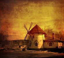 le moulin by Maria Nikolaeva