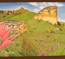 Drakensburg Panoramic by stephnienaber