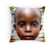 New kid in town - East Africa Mission Orphanage Throw Pillow