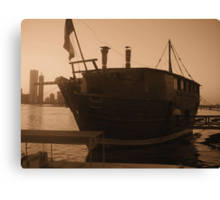The Floating Diner Canvas Print
