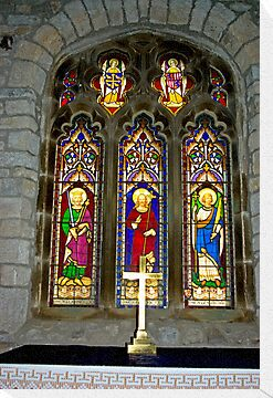 Window #2 - St Oswald's Church - Arncliffe by Trevor Kersley