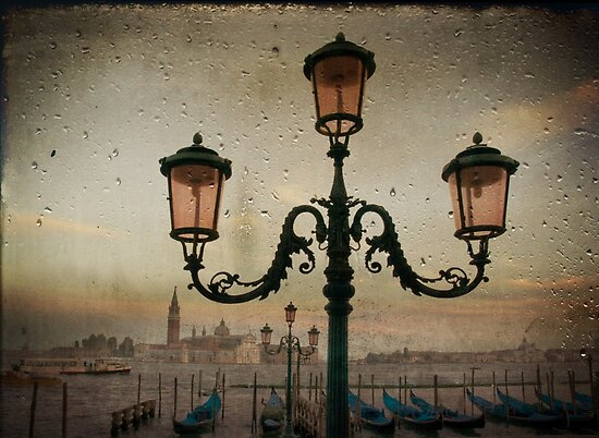 Venise after rain by Laurent Hunziker